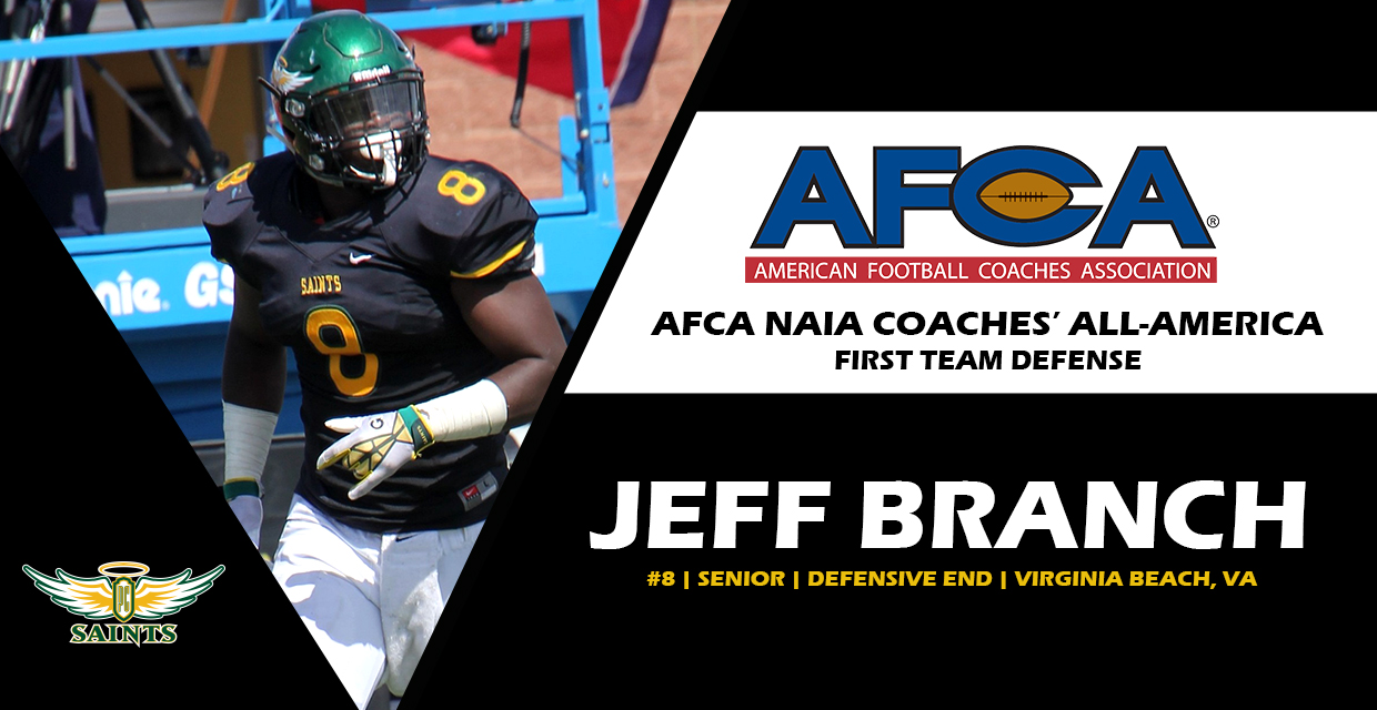 Photo for Branch Named to AFCA Coaches' All-America Defense First Team