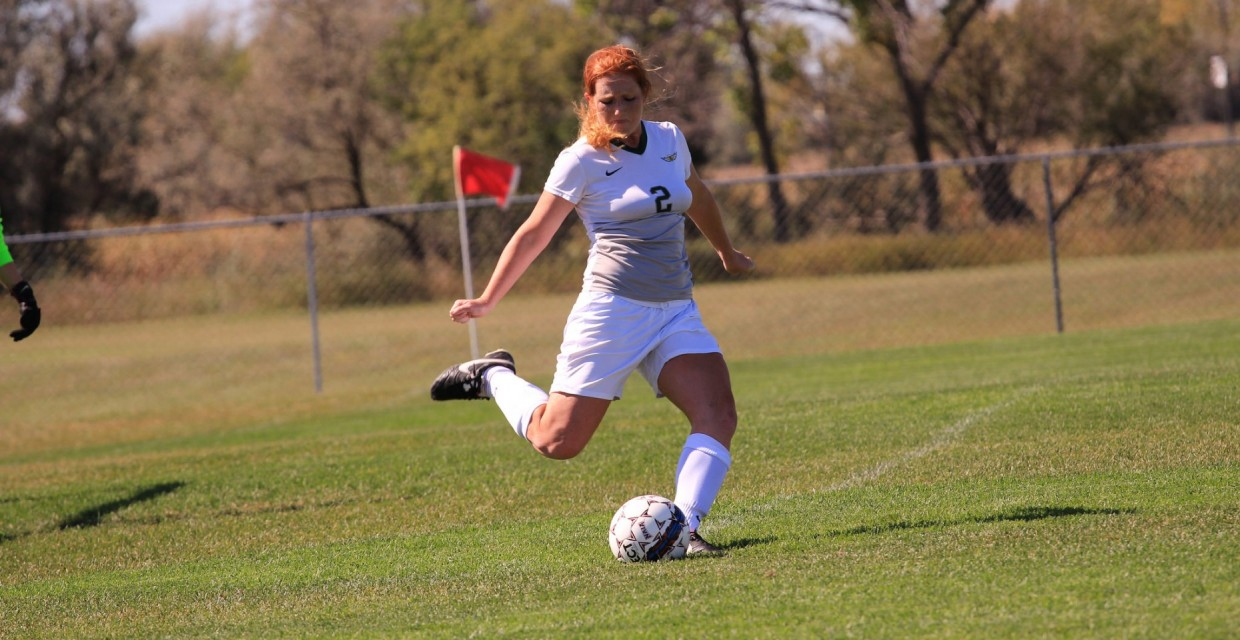 Photo for Women's Soccer Blanked by V-Hawks