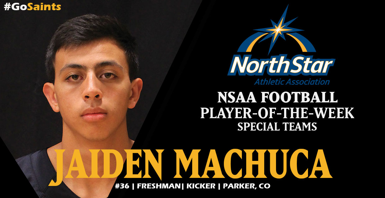 Photo for Jaiden Machuca Kicks His Way For NSAA Honor