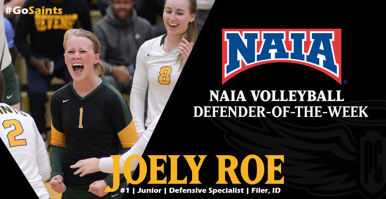 Photo for Roe Earns National Honor as NAIA Defender of the Week