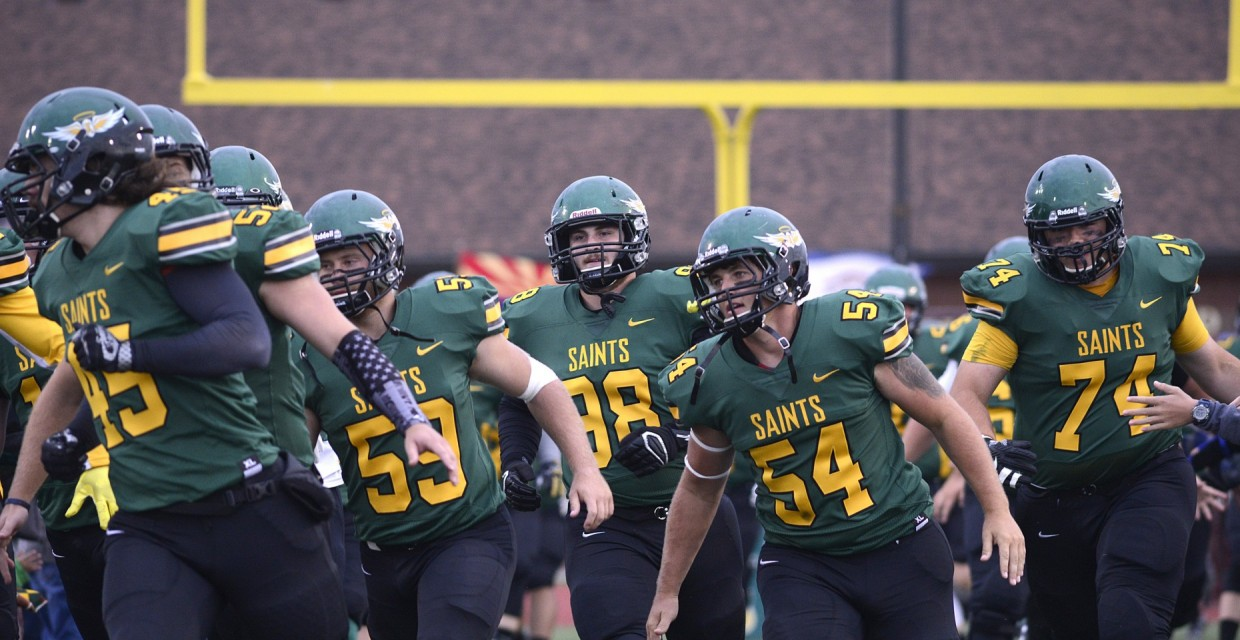 Photo for Saints Go Marchin' in 40-22 Homecoming Victory